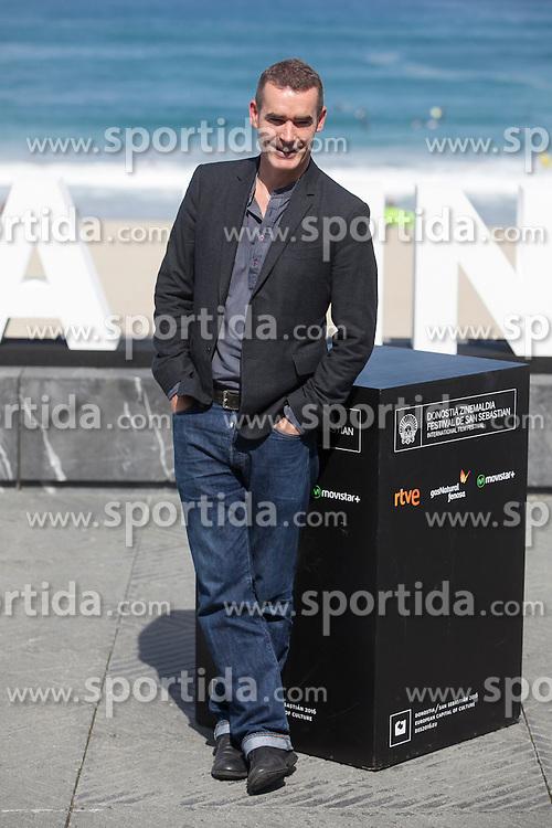 26.09.2015, Madrid, San Sebastian, ESP, San Sebastian International Film Festival, im Bild Movie director Rufus Norris poses during `London road&acute; film presentation // at 63rd Donostia Zinemaldia, San Sebastian International Film Festival in Madrid in San Sebastian, Spain on 2015/09/26. EXPA Pictures &copy; 2015, PhotoCredit: EXPA/ Alterphotos/ Victor Blanco<br /> <br /> *****ATTENTION - OUT of ESP, SUI*****