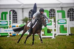 Van Raemdonck Florian, BEL, Makker van den Hoek<br /> Nationaal Tornooi LRV Ponies<br /> Zonnebeke 2019<br /> © Hippo Foto - Dirk Caremans<br />  29/09/2019