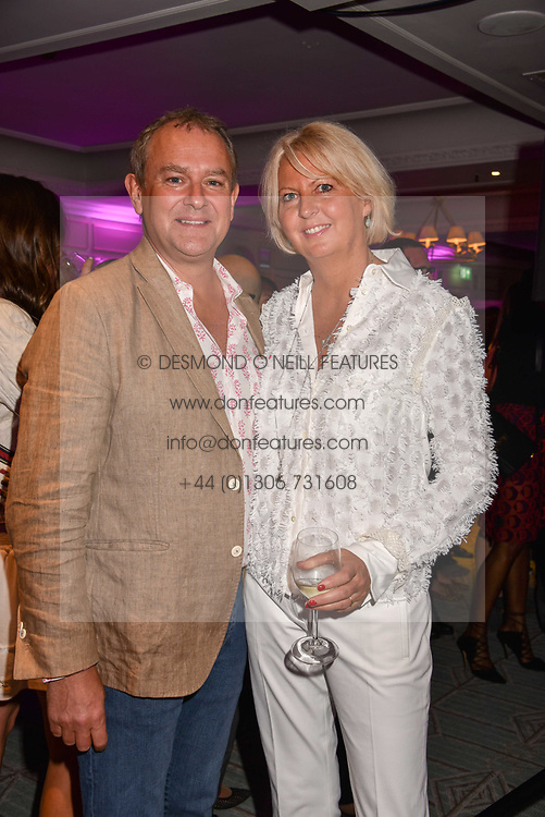 Hugh Bonneville and his wife Lulu at the 2017 Fortnum &amp; Mason Food &amp; Drink Awards held at Fortnum &amp; Mason, Piccadilly London England. 11 May 2017.<br /> Photo by Dominic O'Neill/SilverHub 0203 174 1069 sales@silverhubmedia.com