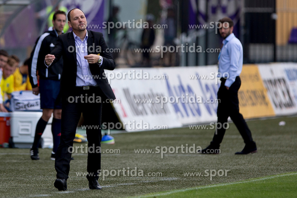 Ante Simundza, head coach of NK Maribor during football match between NK Maribor and NK Domzale in 36th Round of Prva liga Telekom Slovenije 2013/14, on May 25, 2014 in Stadium Ljudski vrt, Maribor, Slovenia. Photo by Urban Urbanc / Sportida