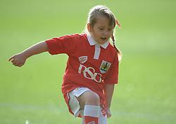 Mascot - Photo mandatory by-line: Dougie Allward/JMP - Mobile: 07966 386802 - 25/01/2015 - SPORT - Football - Bristol - Ashton Gate - Bristol City v West Ham United - FA Cup Fourth Round