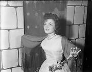 "27/11/1952<br /> 11/27/1952<br /> 27 November 1952<br /> Celine Murphy as ""Runaway Girl"", O'Connell School Musical and Dramatic Society."