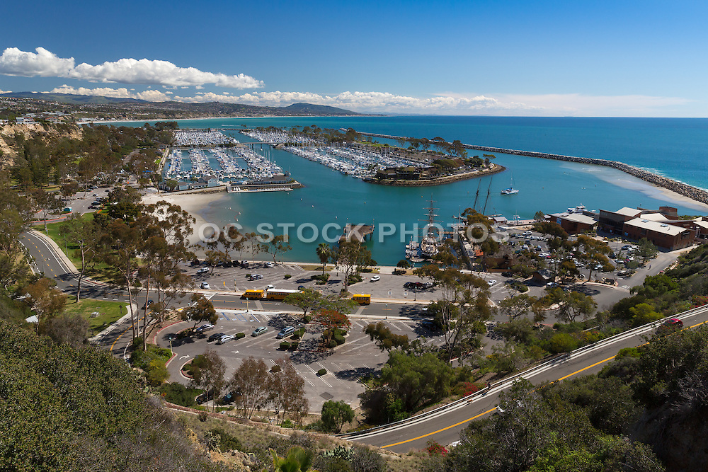 Dana Point Harbor View from Cove Road