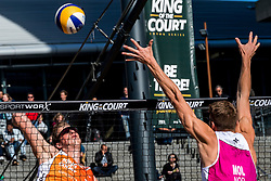 07-09-2018 NED: King of the Court, Utrecht<br /> 5 teams play in 3 rounds for the title 'King of the Court Christiaan Varenhorst #1 NED
