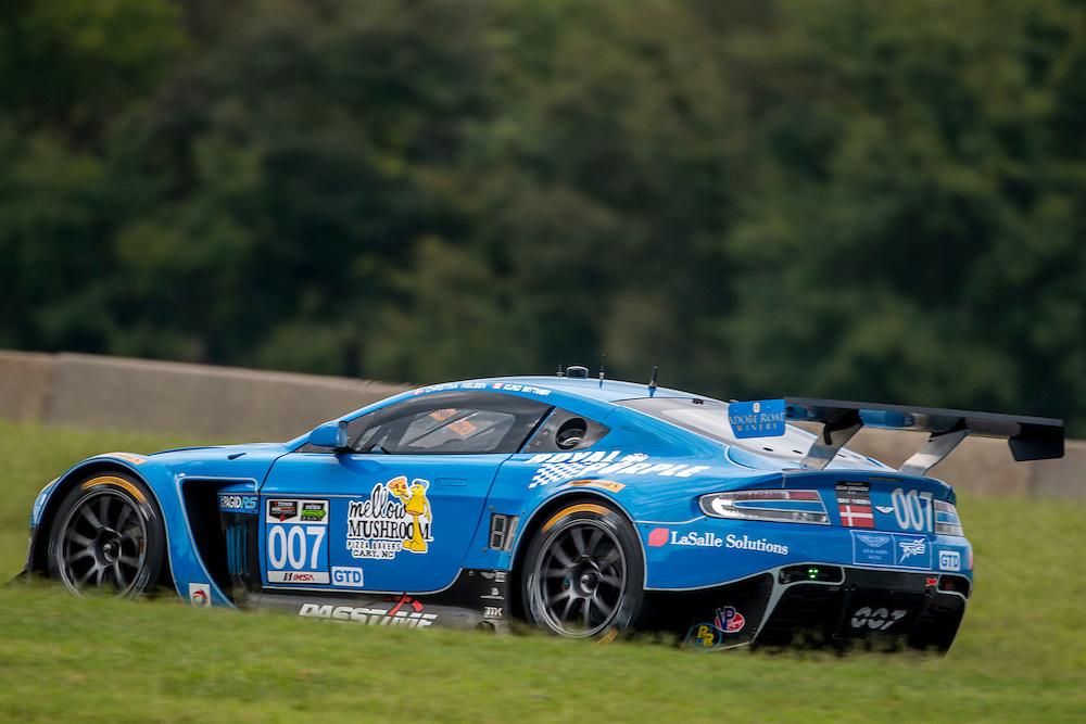 IMSA Tudor Series, Virginia International Raceway, Alton, VA, August 2015. (Photo by Brian Cleary/ www.bcpix.com )