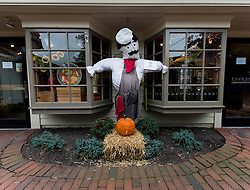 Sept.28, 2016 - New Hope, Pennsylvania, U.S. -  Scarecrows are displayed at the Annual Peddler's Village Scarecrow Festival.(Credit Image: © Brian Cahn via ZUMA Wire)