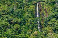 Chorcha Waterfall; Meseta Chorcha, Panama