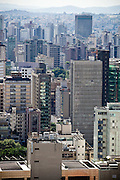 Belo Horizonte_MG, Brasil...Vista panoramica da capital mineira. Detalhe para os predios da regiao central da cidade e o bairro Funcionarios, visao a partir do bairro Cruzeiro em Belo Horizonte, Minas Gerais...Panoramic view of the state capital. Details for building in the central region city and Funcionarios neighborhood. The view from the Cruzeiro neighborhood in Belo Horizonte, Minas Gerais...Foto: NIDIN SANCHES / NITRO