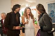 UMESH PATEL; ; OLIA SARDAROVA; ALINA JAKUBOVA;  Pakpoom Silaphan 'Empire State' Opening Reception, Scream. Eastcastle St. London. 21 February 2013