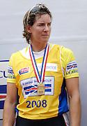 Lucerne, SWITZERLAND.  Katherine GRAINGER,  from the GBR W4X Bronze medalist, at the  2008 FISA World Cup Regatta, Round 2.  Lake Rotsee, on Sunday 01/06/2008.  [Mandatory Credit:  Peter Spurrier/Intersport Images].Lucerne International Regatta. Rowing Course, Lake Rottsee, Lucerne, SWITZERLAND.