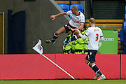 Bolton Wanderers midfielder Darren Pratley  celebrates his goal during the Sky Bet Championship match between Bolton Wanderers and Milton Keynes Dons at the Macron Stadium, Bolton, England on 23 January 2016. Photo by Simon Davies.