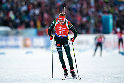 March 10, 2019 - –Stersund, Sweden - 190310 Benedikt Doll of Germany during the Men's 12,5 km Pursuit during the IBU World Championships Biathlon on March 10, 2019 in Östersund. 10, 2019 in Östersund..Photo: Johan Axelsson / BILDBYRÃ…N / Cop 245 (Credit Image: © Johan Axelsson/Bildbyran via ZUMA Press)