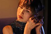 Katarzyna Herman polish actress playing in theater photo Piotr Gesicki