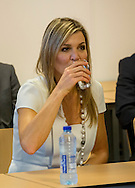 Eindhoven, 08-06-2016 <br /> <br /> Queen Maxima pays a working visit to Own Boss program at Summa College in Eindhoven<br /> <br /> COPYRIGHT:ROYALPORTRAITS EUROPE/BERNARD RUEBSAMEN