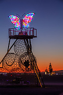 The Phoenix and The Butterfly: A story of metamorphosis<br /> by: swig miller<br /> from: Topanga, CA<br /> year: 2019<br /> <br /> Imagine walking across the playa, looking up to see a huge flaming Phoenix flying high in the night sky facing its partner, a beautiful glowing Butterfly. Twenty-five-foot pyramids made of spheres connect you to them and a staircase invites you to share their view.<br /> <br /> Imagine returning the next day to find these pyramids filled with interactive elements like places to connect, find shade, swing, climb, and view the playa.<br /> <br /> Contact: swigmiller@gmail.com<br /> <br /> https://burningman.org/event/brc/2019-art-installations/?yyyy=&artType=B#a2I0V000001AX4uUAG