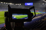 Cameras ready before the Premier League match between Leicester City and West Ham United at the King Power Stadium, Leicester, England on 22 January 2020.