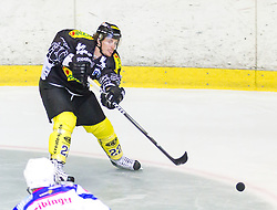 19.08.2012, Messestadion, Dornbirn, AUT, Eishockey Testspiel, Dornbirner Eishockey Club vs EV Ravensburg Towerstars, im Bild Christian Ban, (Dornbirner Eishockey Club, #22) // during a international Icehockey Friendly Match between Dornbirner Icehockey club and EV Ravensburg Towerstars at the Exhibition Stadium, Dornbirn, Austria on 2012/08/19, EXPA Pictures © 2012, PhotoCredit: EXPA/ Peter Rinderer