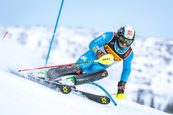 17.02.2019, Aare, SWE, FIS Weltmeisterschaften Ski Alpin, Slalom, Herren, 1. Lauf, im Bild Stefano Gross (ITA) // Stefano Gross of Italy in action during his 1st run of men's Slalom of FIS Ski World Championships 2019. Aare, Sweden on 2019/02/17. EXPA Pictures © 2019, PhotoCredit: EXPA/ Dominik Angerer