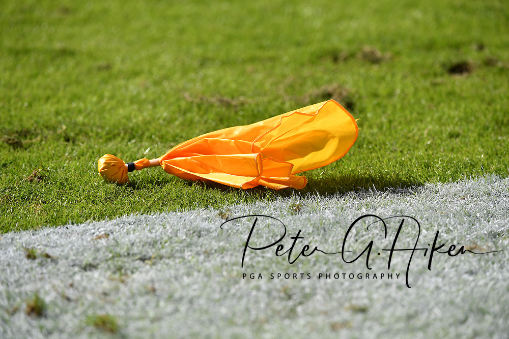 KANSAS CITY, MO - OCTOBER 23:  A penalty flay lays on the field during a game between the Kansas City Chiefs and the New Orleans Saints on October 23, 2016 at Arrowhead Stadium in Kansas City, Missouri.  (Photo by Peter G. Aiken/Getty Images) *** Local Caption ***