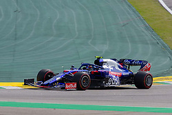 November 17, 2019, Sao Paulo, Sao Paulo, Brazil: PIERRE GASLY, of Toro Rosso Honda, second place of the Formula One Grand Prix of Brazil 2019 at Interlagos circuit, in Sao Paulo, Brazil, on Sunday, November 17. (Credit Image: © Paulo Lopes/ZUMA Wire)