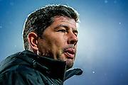 ALKMAAR - 20-02-2016, AZ - FC Groningen, AFAS Stadion, 4-1, FC Groningen trainer Erwin van der Looi