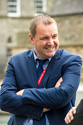 Pictured: Neil Findlay<br /> <br /> Stillbirth and neonatal death charity  launched their awareness month campaign today in Edinburgh. The #15babiesaday drive by Sands aims to highlight the fact 15 babies a day in the UK die shortly before, during or after birth.  MSPs Neil Findlay, Kezia Dugdale, Angela Constance, Ian Gray among others joined bereaved parents at its Scottish Parliament launch today.<br /> <br /> Ger Harley | EEm 15 June 2017