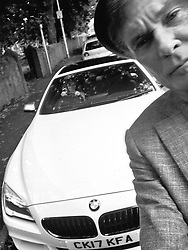 "David Hasselhoff releases a photo on Twitter with the following caption: """"My first selfie with the BMW @SytnerBMW it's not KITT but we got a lot of looks thanks Keith!"""". Photo Credit: Twitter *** No USA Distribution *** For Editorial Use Only *** Not to be Published in Books or Photo Books ***  Please note: Fees charged by the agency are for the agency's services only, and do not, nor are they intended to, convey to the user any ownership of Copyright or License in the material. The agency does not claim any ownership including but not limited to Copyright or License in the attached material. By publishing this material you expressly agree to indemnify and to hold the agency and its directors, shareholders and employees harmless from any loss, claims, damages, demands, expenses (including legal fees), or any causes of action or allegation against the agency arising out of or connected in any way with publication of the material."