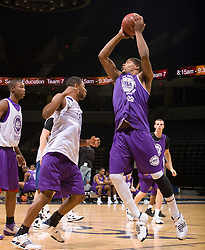 P/WF Karron Johnson (Durham, NC / Mt. Zion Christian).  The NBA Player's Association held their annual Top 100 basketball camp at the John Paul Jones Arena on the Grounds of the University of Virginia in Charlottesville, VA on June 20, 2008