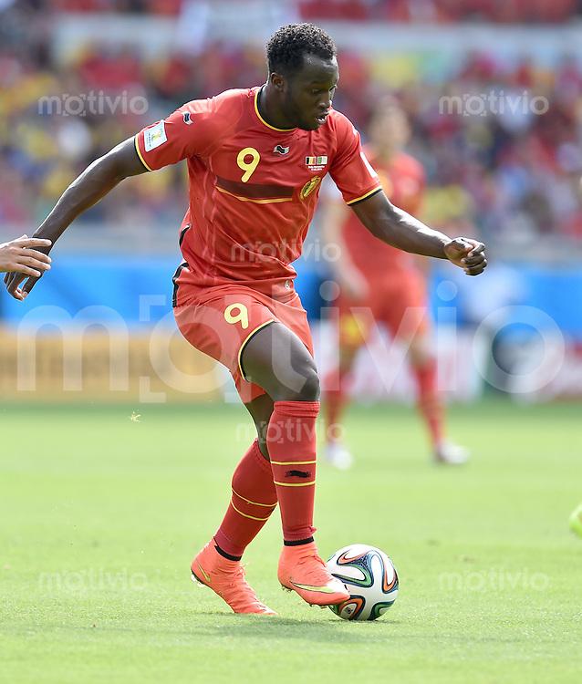 FUSSBALL WM 2014  VORRUNDE    Gruppe H     Belgien - Algerien                       17.06.2014 Romelu Lukaku (Belgien) am Ball
