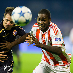 20151020: CRO, Football - UEFA Champions League 2015/16, FC Dinamo Zagreb vs Olympiakos