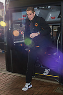 Michael Dawson of Hull City arrives at Ewood Park, Blackburn ahead of during the FA Cup match between Blackburn Rovers and Hull City<br /> Picture by Matt Wilkinson/Focus Images Ltd 07814 960751<br /> 06/01/2018