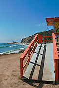 Topanga, South, Lifeguard Tower, PCH, Ocean Waves, Socal Beach, Lifeguard Stations, CA, Geometric, shapes, Lifeguard Towers,  Summer of Color exhibit, The flower, beauty, core design, elements, environment, symbol of joy, universal, youth, Seaside City, South Bay, Southern California
