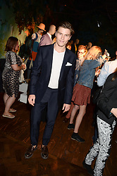 OLIVER CHESHIRE at the the London Collections: Men 2013 Ben Sherman and Shortlist Magazine party at Sketch, Conduit Street, London on 18th June 2013.