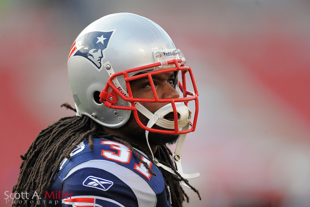 New England Patriots safety Brandon Meriweather (31) in action against the Tampa Bay Buccaneers at Raymond James Stadium on Aug. 18, 2011 in Tampa, Fla...SPECIAL TO FOXSPORTS.COM/SCOTT A. MILLER