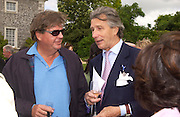 Johann Rupert and Arnaud Bamberger, Cartier Style Et Luxe, Goodwood, 27 June 2004. SUPPLIED FOR ONE-TIME USE ONLY-DO NOT ARCHIVE. © Copyright Photograph by Dafydd Jones 66 Stockwell Park Rd. London SW9 0DA Tel 020 7733 0108 www.dafjones.com