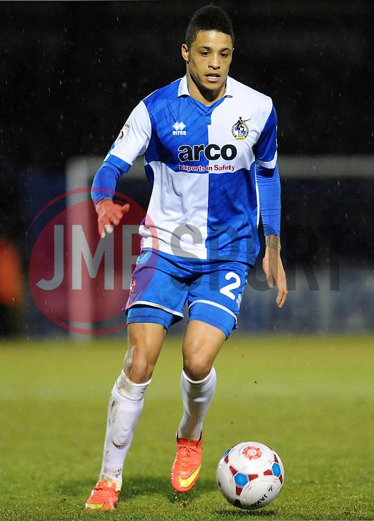 Bristol Rovers' Daniel Leadbitter - Photo mandatory by-line: Neil Brookman/JMP - Mobile: 07966 386802 - 24/02/2015 - SPORT - Football - Bristol - Memorial Stadium - Bristol Rovers v Braintree - Vanarama Football Conference