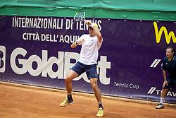 June 22, 2018 - L'Aquila, Italy - Facundo Bagnis during match between Daniel Elahi Galan (COL) and Facundo Bagnis (ARG) during day 7 at the Internazionali di Tennis Citt dell'Aquila (ATP Challenger L'Aquila) in L'Aquila, Italy, on June 22, 2018. (Credit Image: © Manuel Romano/NurPhoto via ZUMA Press)
