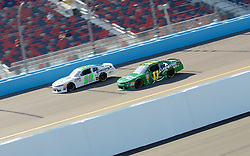 November 10, 2018 - Phoenix, Arizona, U.S. - PHOENIX, AZ - NOVEMBER 10:  Donald Theetge (90) Chevrolet and Ryan Truex (11) LeafFilter Gutter Protection Chevrolet on the track during final practice session at the NASCAR Xfinity Series Playoff Race - Whelen 200  on November 10, 2018 at ISM Raceway in Phoenix, AZ.  (Photo by Lyle Setter/Icon Sportswire) (Credit Image: © Lyle Setter/Icon SMI via ZUMA Press)