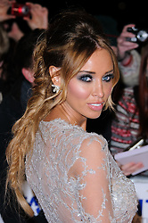 Lauren Pope at the National Television Awards held in London on Wednesday, 25th January 2012. Photo by: i-Images