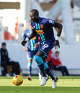 Mohamed Diame of Hull City during the Sky Bet Championship match at Ashton Gate, Bristol<br /> Picture by Mike Griffiths/Focus Images Ltd +44 7766 223933<br /> 21/11/2015