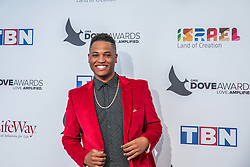 October 11, 2016 - Nashville, Tennessee, USA - Aaron Cole at the 47th Annual GMA Dove Awards  in Nashville, TN at Allen Arena on the campus of Lipscomb University.  The GMA Dove Awards is an awards show produced by the Gospel Music Association. (Credit Image: © Jason Walle via ZUMA Wire)