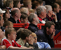 Photo: Lee Earle.<br /> Charlton Athletic v Tottenham Hotspur. The Barclays Premiership. 07/05/2007.The Charlton fans look dejected as they know their fate.