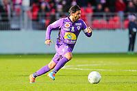 Johan CAVALLI  - 20.12.2014 - Brest / Ajaccio - 18eme journee de Ligue 2 -<br /> Photo : Vincent Michel / Icon Sport
