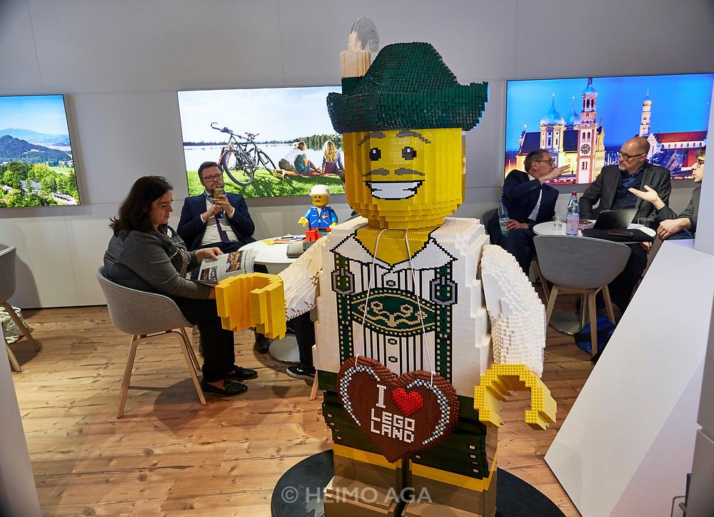 Berlin, ITB 2018. Legoland Deutschland.