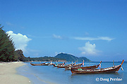 fishing boats, Rawai Beach, Phuket Island, Thailand