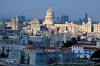 Cuba. La Habana. La Havane. Vue générale. Le Malecon. // Cityscape, cityscape, Havana, Cuba