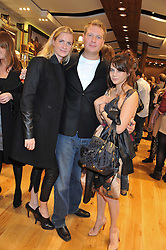 Left to right, CHLOE DELEVINGNE, CHLOE DELEVINGNE and MARTHA FREUD at a party to celebrate the opening of the new UGG Australia Flagship store at 5-7 Brompton Road, London on 2nd November 2011.