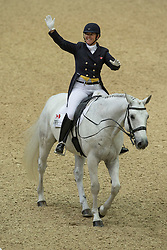 Brooks Jacqueline (CAN) - D Niro<br /> Reem Acra FEI World Cup Final Goteborg 2013<br /> © Dirk Caremans