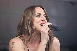 Melanie Jayne Chisholm known as Melanie C in Italy performs at the Franciacorta Outlet of Rodengo Saiano, in the Province of Brescia. 16 Jun 2018 Pictured: Melanie Jayne Chisholm known as Melanie C in Italy performs at the Franciacorta Outlet of Rodengo Saiano, in the Province of Brescia. Photo credit: Fotogramma / MEGA TheMegaAgency.com +1 888 505 6342