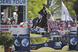 Bluman Daniel, (COL), Conconcreto Sancha LS<br /> Longines Global Champions Tour - Grand Prix of Hamburg<br /> Hamburg - Hamburger Derby 2016<br /> © Hippo Foto - Stefan Lafrentz